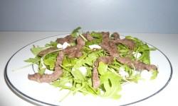 Salade de bœuf et roquette