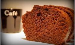 Cake fort en café...