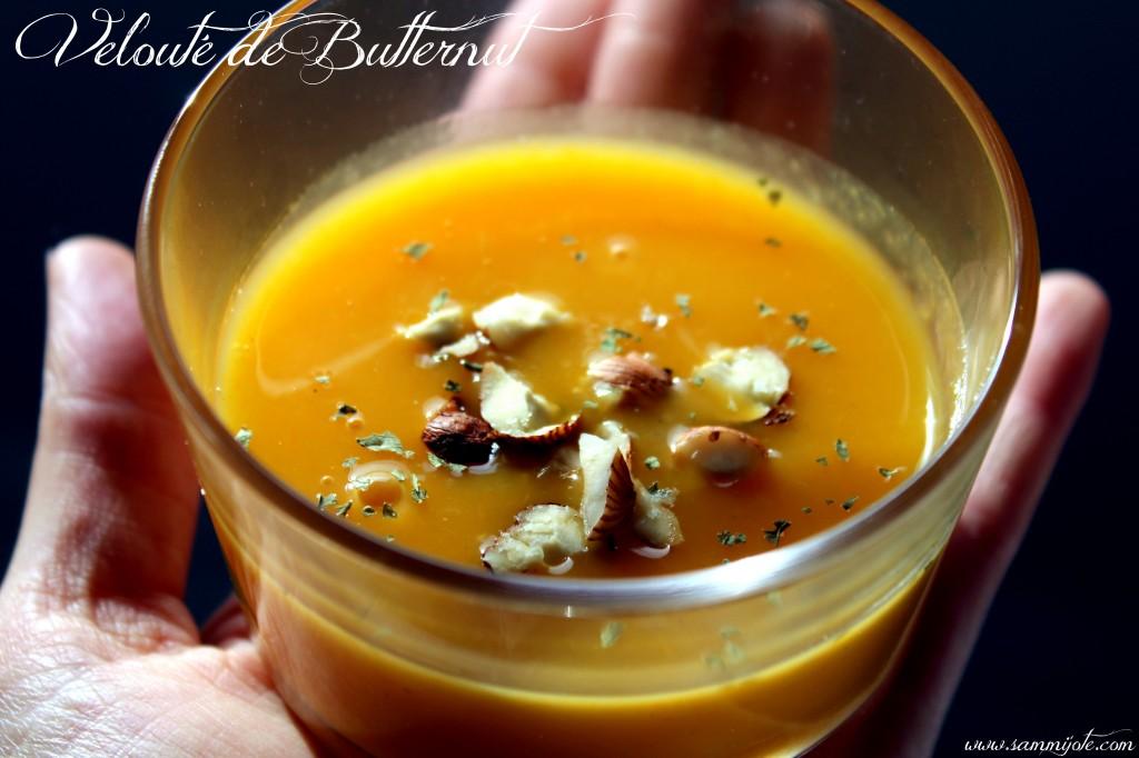 Velout de butternut aux noisettes sammijote - Soupe butternut thermomix ...