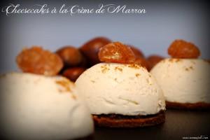 Cheesecake à la crème de marron | Sammijote